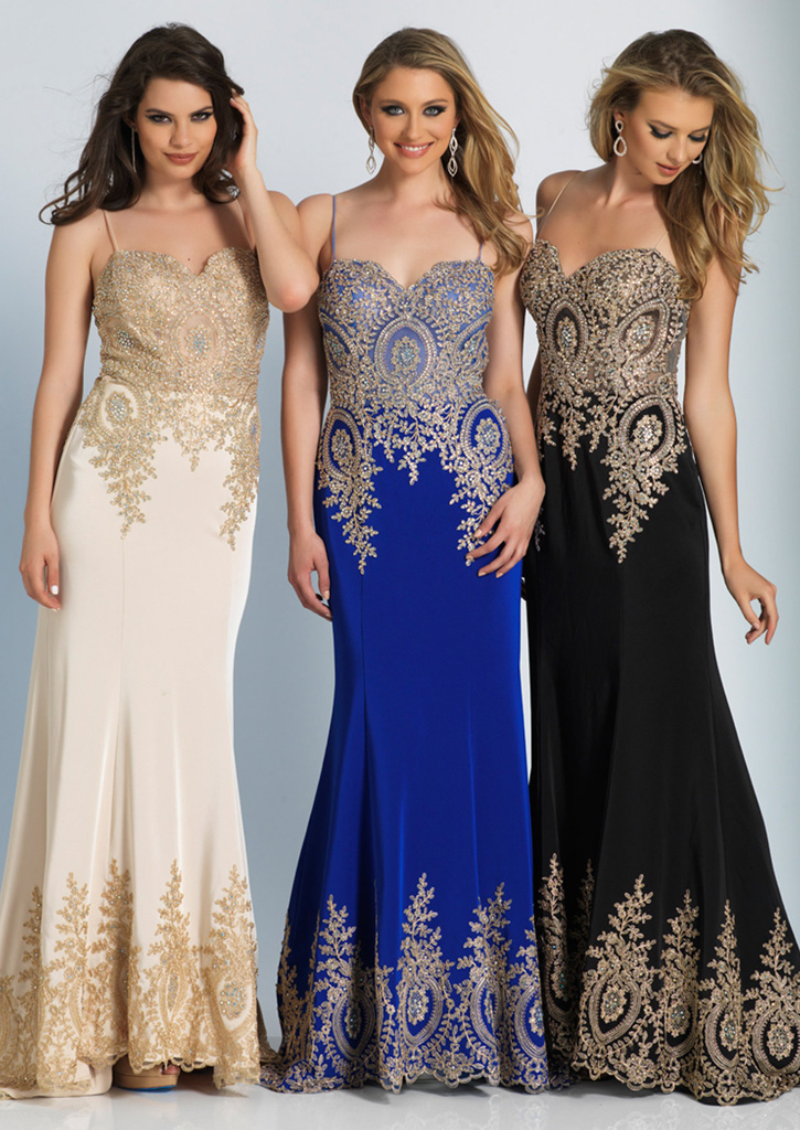 cb1ff1d8097 Dave and Johnny Prom Dress 2322