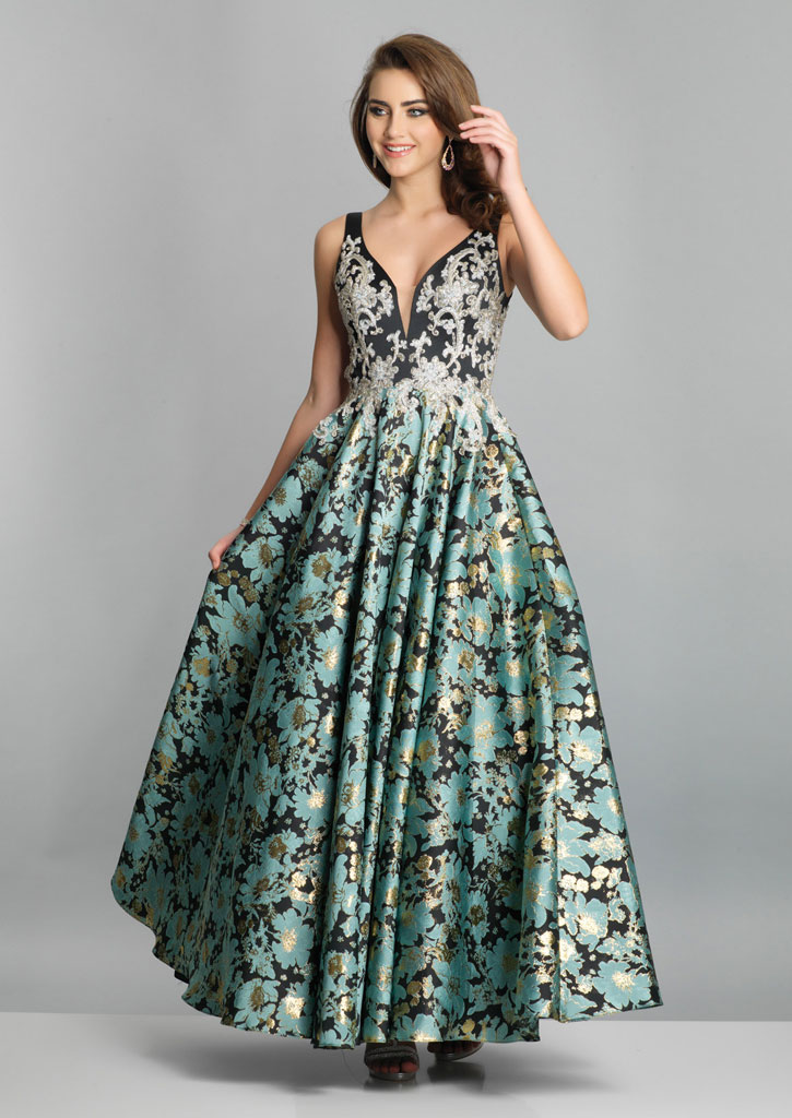 3ee24f2c90e Dave and Johnny Prom Dress A7506